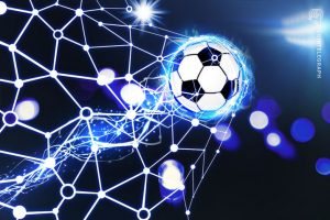 Empty stadiums get blockchain and soccer to play together